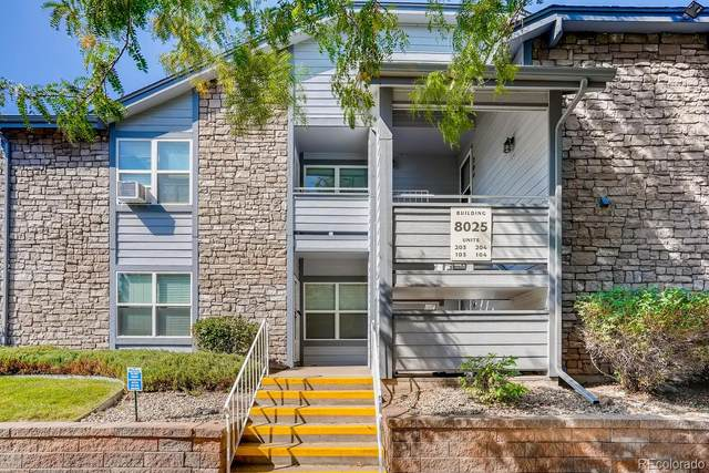 8025 W Eastman Place #103, Lakewood, CO 80227 (#6647400) :: The DeGrood Team