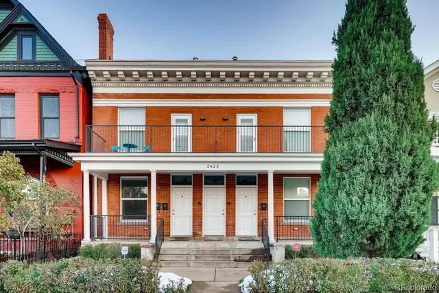 2428 Tremont Place, Denver, CO 80205 (#6648250) :: milehimodern