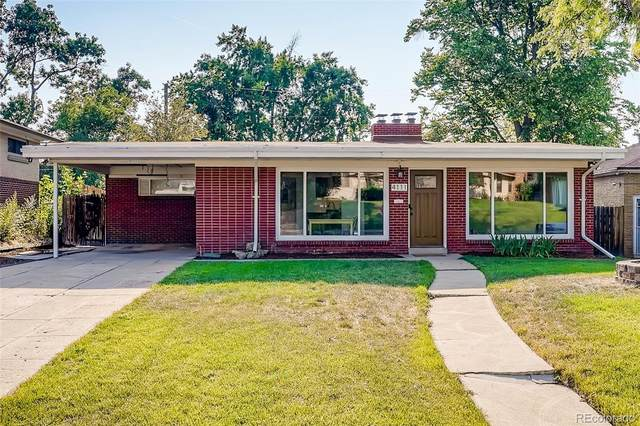 4111 S Galapago Street, Englewood, CO 80110 (#6661832) :: The Griffith Home Team