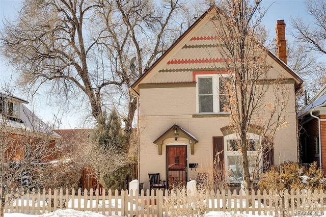 109 S Corona Street, Denver, CO 80209 (#6662722) :: James Crocker Team
