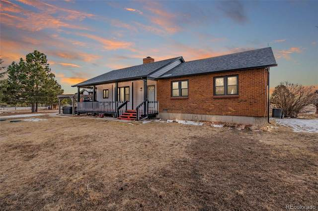 22725 Manning Drive, Elbert, CO 80106 (#6664405) :: The Dixon Group