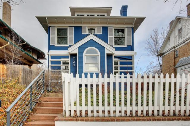 720 N Downing Street, Denver, CO 80218 (#6666741) :: Compass Colorado Realty