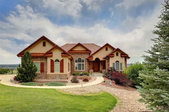 4747 Carefree Trail, Parker, CO 80134 (#6668349) :: The Peak Properties Group