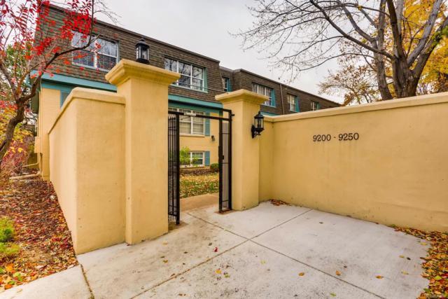 9210 E Girard Avenue #9, Denver, CO 80231 (#6670178) :: The Heyl Group at Keller Williams