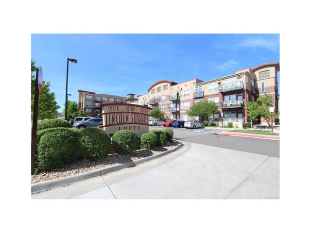 10176 Park Meadows Drive #2302, Lone Tree, CO 80124 (#6671163) :: The Peak Properties Group