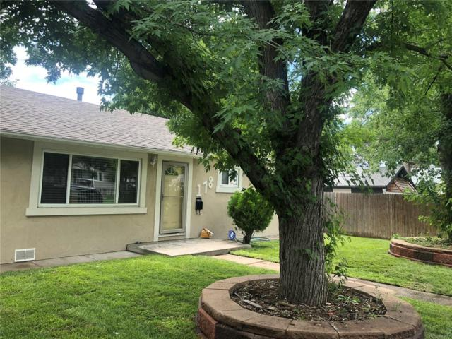178 Meade Street, Denver, CO 80219 (MLS #6671800) :: 8z Real Estate