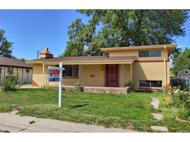 6061 Ivy Street, Commerce City, CO 80022 (#6675384) :: The Peak Properties Group