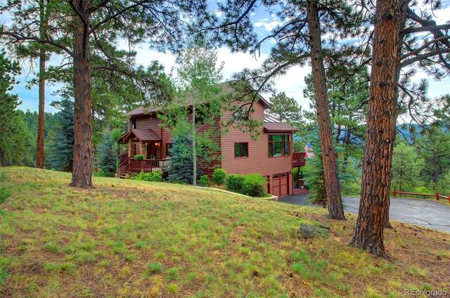 7342 S Sourdough Drive, Morrison, CO 80465 (MLS #6675993) :: 8z Real Estate