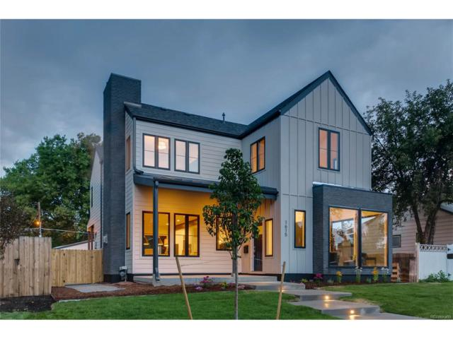 1615 S Cook Street, Denver, CO 80210 (#6677011) :: Thrive Real Estate Group