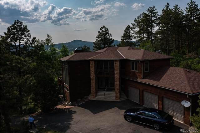 7294 S Sourdough Drive, Morrison, CO 80465 (#6678066) :: Kimberly Austin Properties