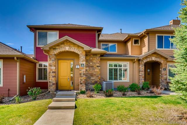8595 Gold Peak Drive F, Highlands Ranch, CO 80130 (#6678582) :: The DeGrood Team