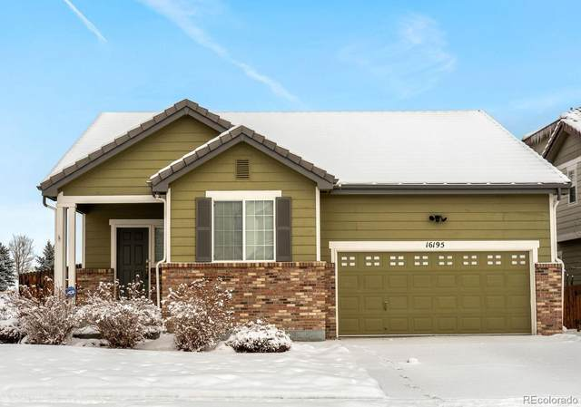 16195 E 99th Avenue, Commerce City, CO 80022 (#6678977) :: HergGroup Denver