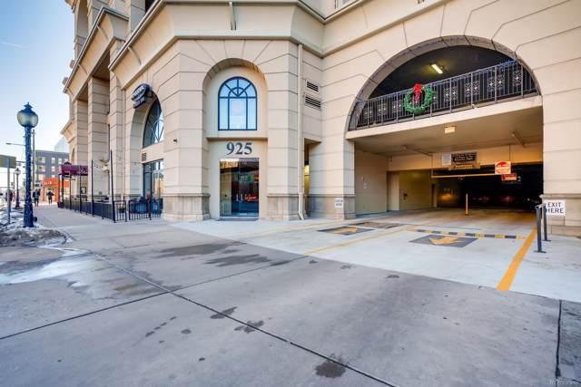 925 N Lincoln Street 11G-S, Denver, CO 80203 (MLS #6680402) :: 8z Real Estate