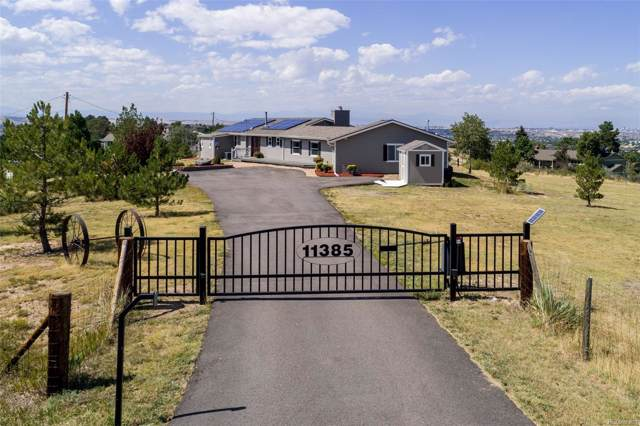 11385 Cardinal Drive, Parker, CO 80138 (#6687473) :: The Peak Properties Group