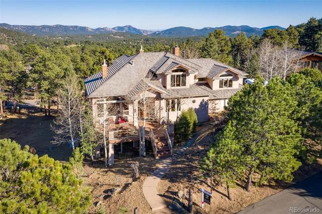 2522 Thunderbird Lane, Evergreen, CO 80439 (#6688125) :: The Brokerage Group