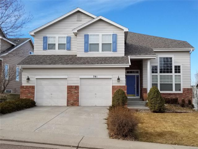 781 Deer Clover Circle, Castle Pines, CO 80108 (#6694391) :: HomeSmart Realty Group