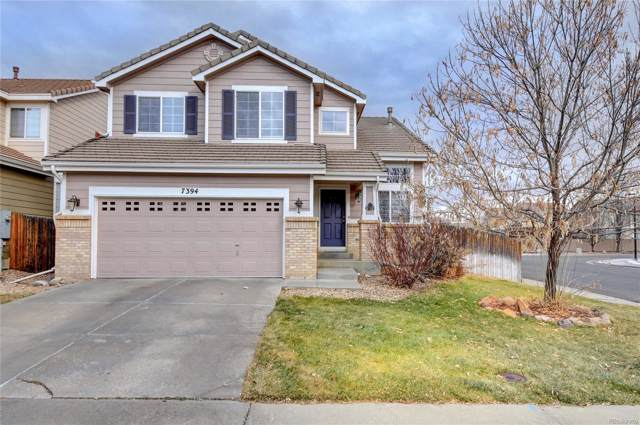 7394 S Memphis Street, Aurora, CO 80016 (MLS #6695936) :: 8z Real Estate