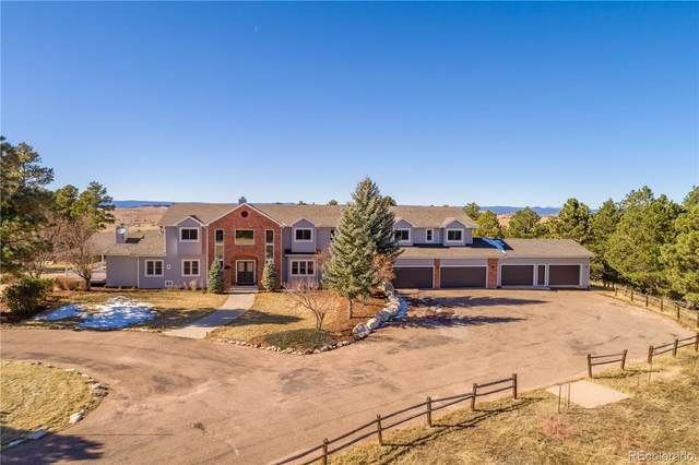 11509 E Palmer Divide Avenue, Larkspur, CO 80118 (#6696557) :: The Harling Team @ Homesmart Realty Group