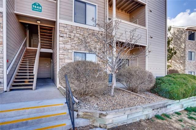7448 S Alkire Street #105, Littleton, CO 80127 (#6697264) :: The Peak Properties Group