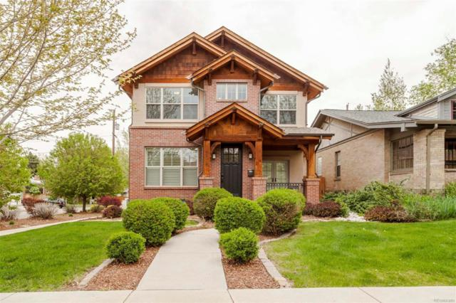 970 Madison Street, Denver, CO 80206 (#6697440) :: The Griffith Home Team