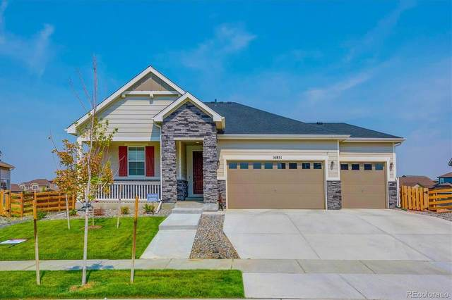 16851 E 110th Avenue, Commerce City, CO 80022 (#6698086) :: Own-Sweethome Team