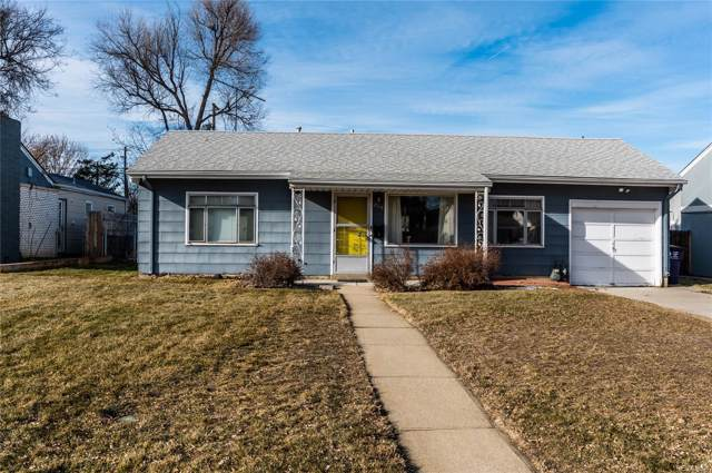 2719 S Elm Street, Denver, CO 80222 (MLS #6699143) :: Colorado Real Estate : The Space Agency