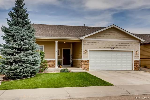 820 Village Drive, Milliken, CO 80543 (#6701064) :: The DeGrood Team