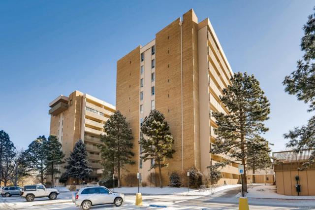 8060 E Girard Avenue #420, Denver, CO 80231 (#6702605) :: Hometrackr Denver
