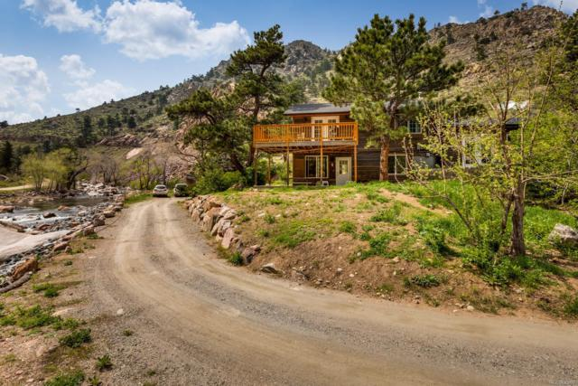 512 Longmont Dam Road, Lyons, CO 80540 (MLS #6705215) :: Keller Williams Realty