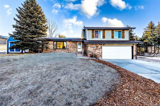 106 Hill Drive, Castle Rock, CO 80104 (#6705310) :: The HomeSmiths Team - Keller Williams