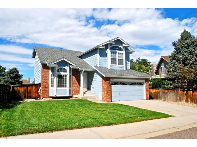 955 Garden Drive, Highlands Ranch, CO 80126 (MLS #6705752) :: 8z Real Estate