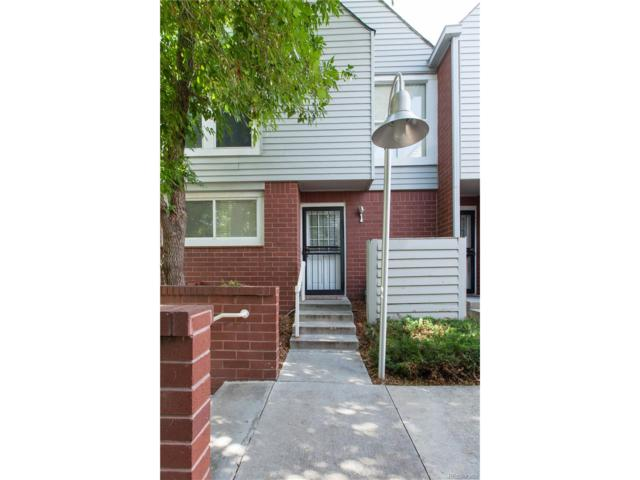1035 Jasmine Street #1, Denver, CO 80220 (MLS #6709714) :: 8z Real Estate