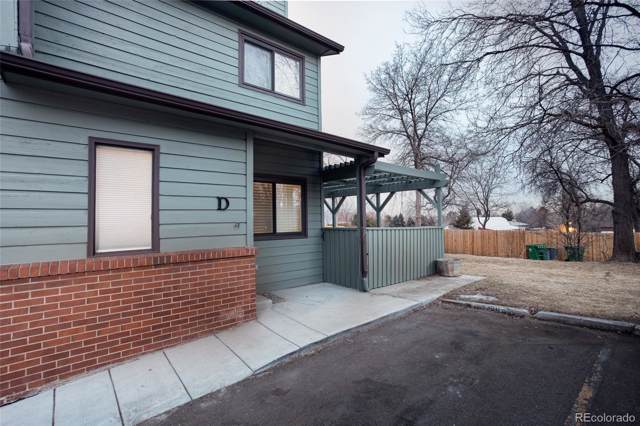 10230 W Jewell Avenue D, Lakewood, CO 80232 (#6712487) :: The DeGrood Team