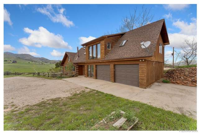 5835 Rist Canyon Road, Bellvue, CO 80512 (#6712756) :: The DeGrood Team