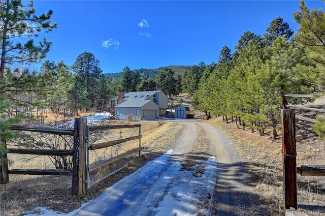 5615 S Hatch Drive, Evergreen, CO 80439 (#6716290) :: The Colorado Foothills Team | Berkshire Hathaway Elevated Living Real Estate