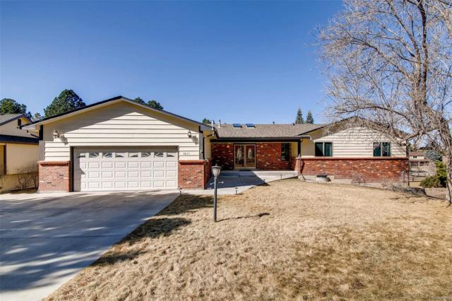 5851 Cantrell Court, Parker, CO 80134 (#6716366) :: The Peak Properties Group
