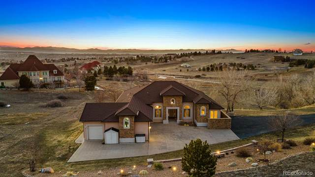 7372 Talon Trail, Parker, CO 80138 (#6717586) :: The Harling Team @ HomeSmart