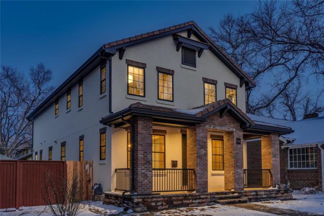 906 S Vine Street, Denver, CO 80209 (#6720906) :: House Hunters Colorado