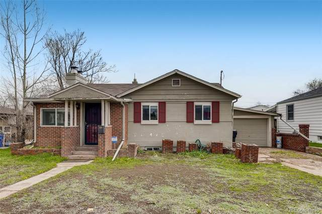 1812 S Hazel Court, Denver, CO 80219 (#6722989) :: Wisdom Real Estate