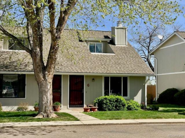 1230 S Reed Street #6, Lakewood, CO 80232 (#6725681) :: House Hunters Colorado