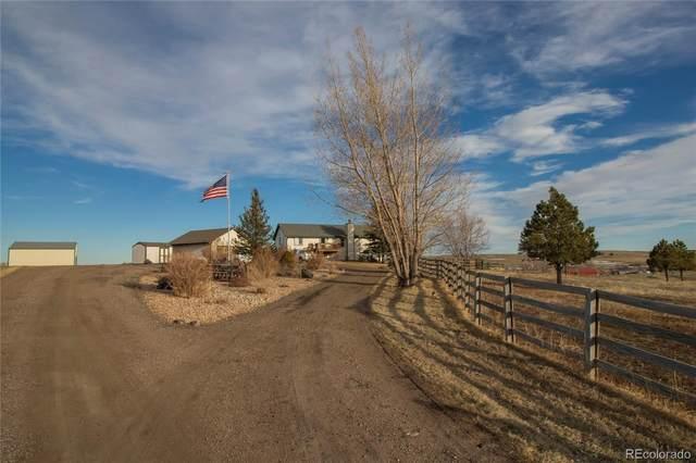 45578 Coal Creek Road, Parker, CO 80138 (MLS #6729327) :: 8z Real Estate