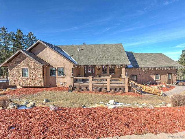 205 Iron Eagle Point, Woodland Park, CO 80863 (#6739711) :: The DeGrood Team