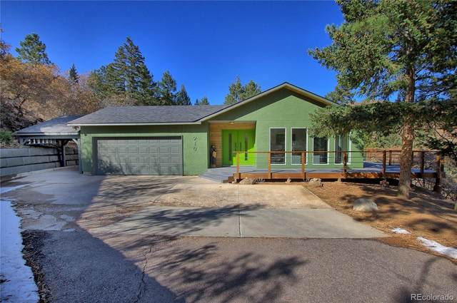 910 Crystal Park Road, Manitou Springs, CO 80829 (#6741148) :: The Heyl Group at Keller Williams