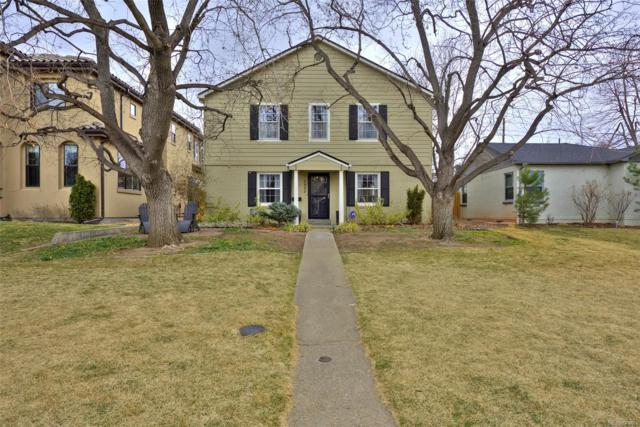 1332 S Fillmore Street, Denver, CO 80210 (#6741836) :: The Pete Cook Home Group