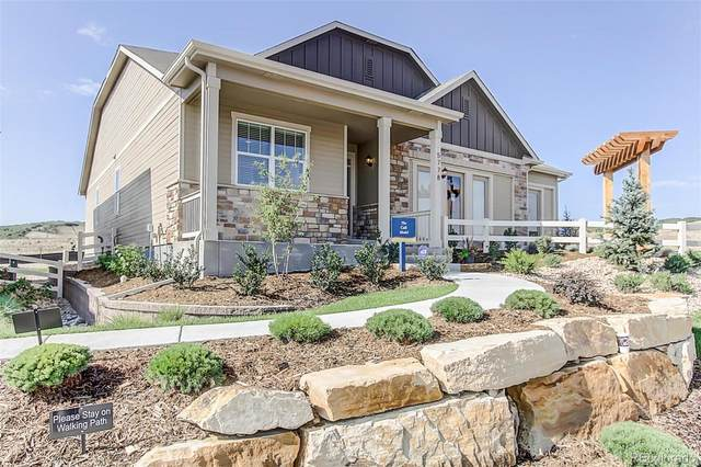 5778 High Timber Circle, Castle Rock, CO 80104 (#6742813) :: The Brokerage Group