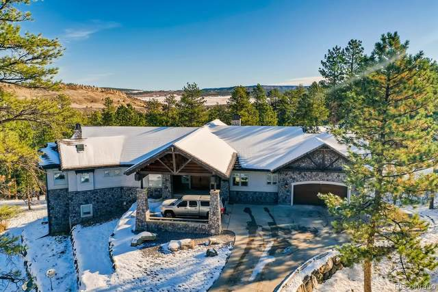 4491 Shoshone Drive, Larkspur, CO 80118 (#6744096) :: Kimberly Austin Properties