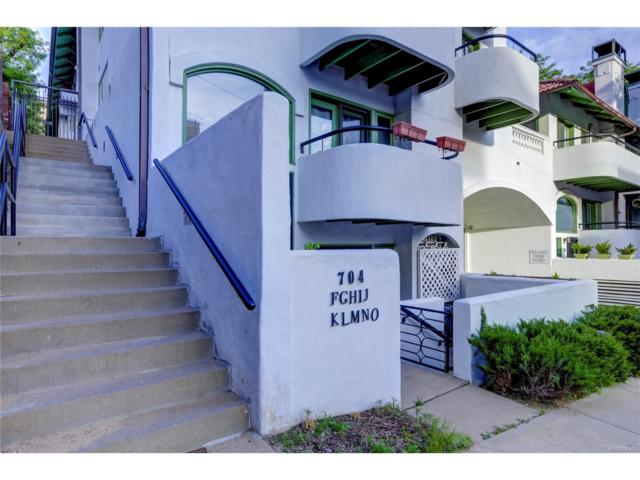 704 Pearl Street #209, Denver, CO 80203 (#6747164) :: The Peak Properties Group