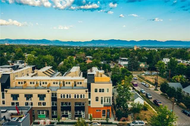 4477 Tennyson Street #3, Denver, CO 80212 (#6753700) :: The Scott Futa Home Team