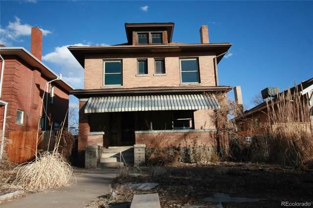 614 Josephine Street, Denver, CO 80206 (#6763774) :: The DeGrood Team