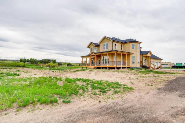 1510 N Castlewood Canyon Road, Franktown, CO 80116 (#6764845) :: Colorado Team Real Estate
